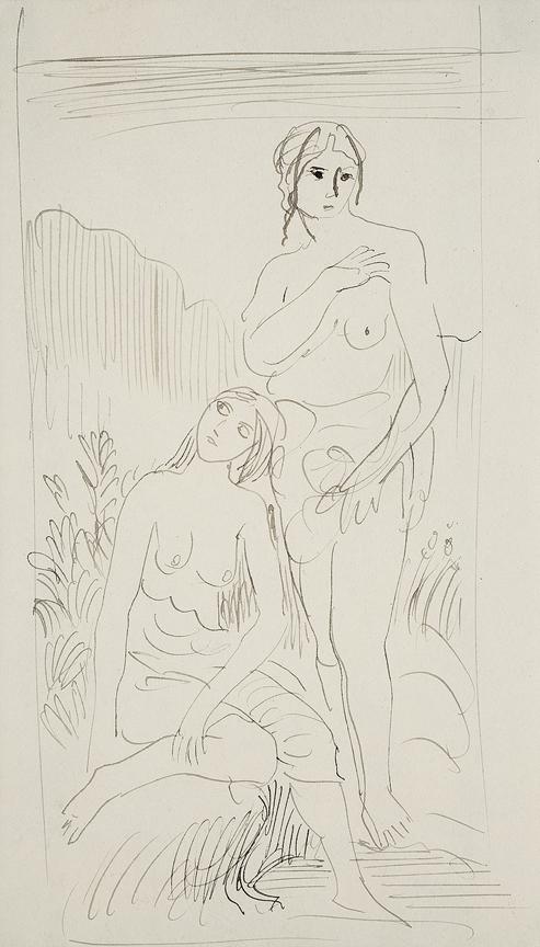 JOHN Augustus O.M. R.A. (1878-1961) - Figure studies.