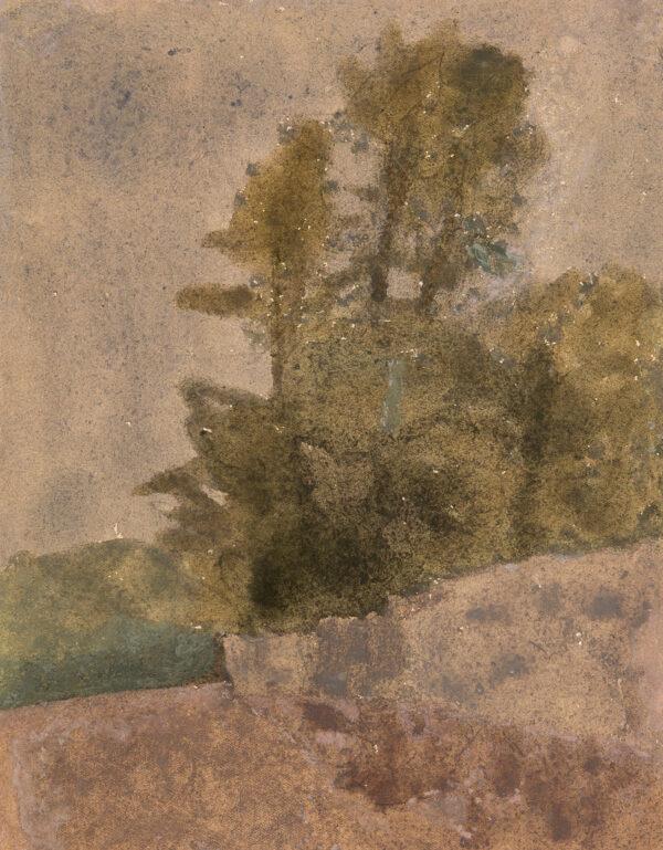 JOHN Gwen (1876-1939) - 'La rue des Clos Moreaux', Meudon.