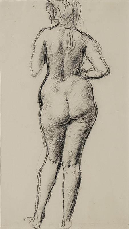 JOHN Augustus O.M. R.A. (1878-1961) - Standing Nude.