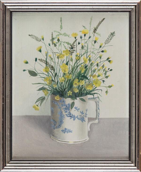 JOHNSON Audrey (b.1918) - 'Buttercups'.