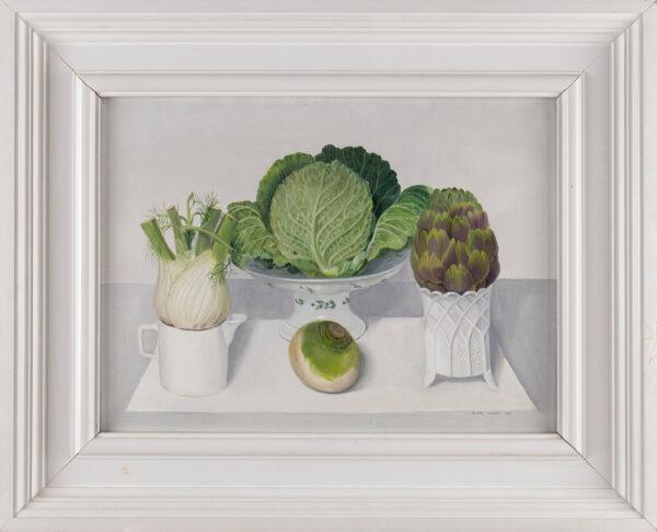 JOHNSON Audrey (1919-2005) - Vegetable Still Life.