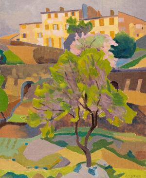 YARROW- JONES Ernest (1872-1951) - Spring, Bormes.