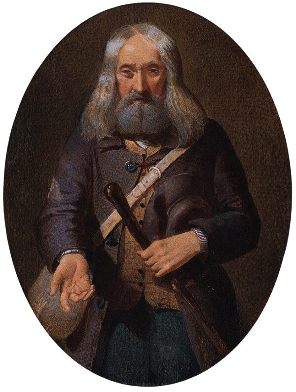 JOPLING Joseph Middleton (1831-1884) - A Wanderer.