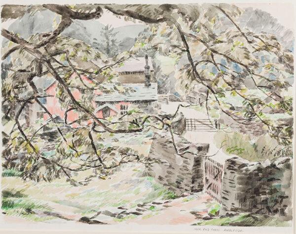 JOWETT Percy (1892-1955) - 'Ambleside, Nook End Farm'.