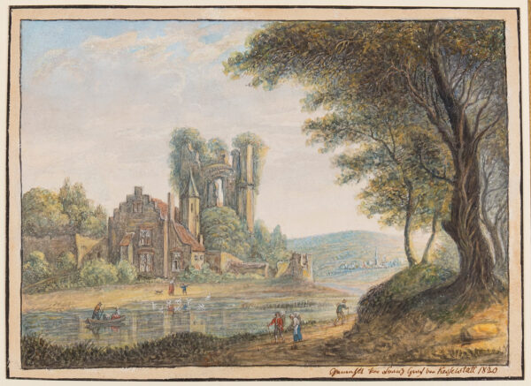 KASTELSTATT Francois Comte de (1753-1841) - Capriccio.