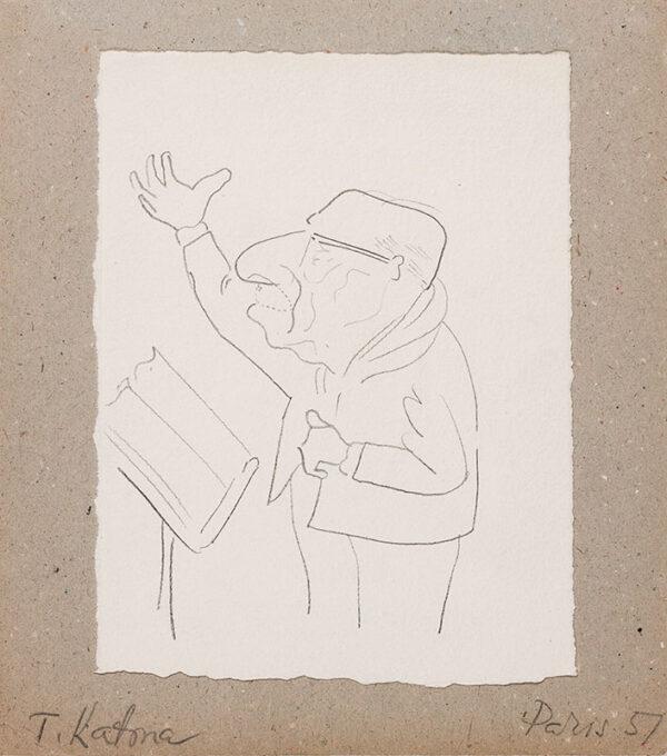 KATONA T (mid-20th century) - 'Stravinsky'.