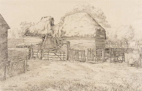 KAYE Mary (Exh: 1931-1938) - A farmyard.