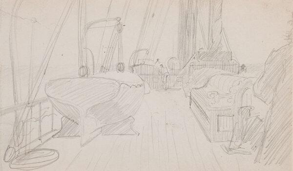 KEENE Charles (1823-1891) - On deck.