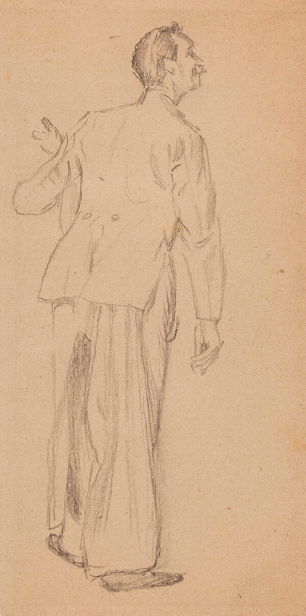 KEENE Charles (1823-1891) - A Waiter.