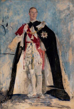 KELLY Sir Gerald P.R.A. (1879-1972) - King George VI.