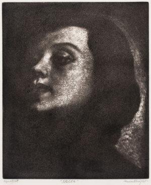 KNIGHT Dame Laura R.A. R.W.S. (1877-1970) - 'Stella'.