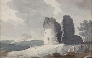 KNIGHT John Baverstock (1785-1859) - 'Hawarden Castle'.