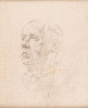 KNIGHTS Winifred (1899-1947) - Head of a Man.