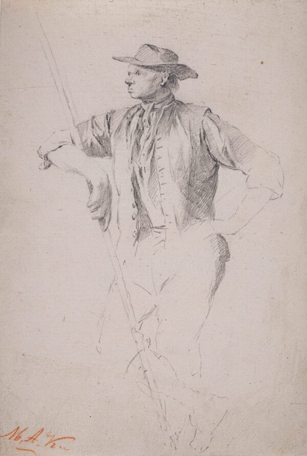 KOEKKOEK Marinus Adrianus (1807-1868) - A labourer.