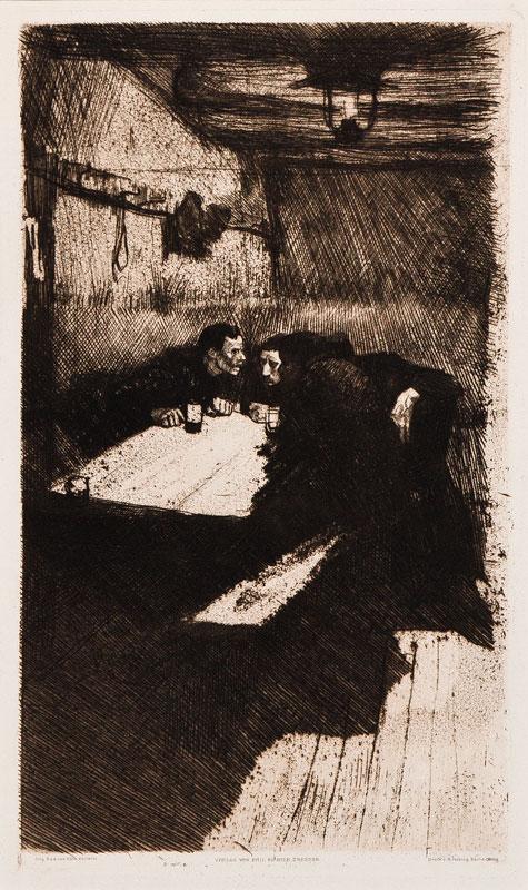 KOLLWITZ Kathe (1967-1945) - 'Conspiracy'; The Weaver's Revolt.