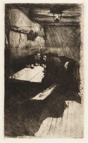 KOLLWITZ Kathe (1867-1945) - 'Berstung' (Kn.