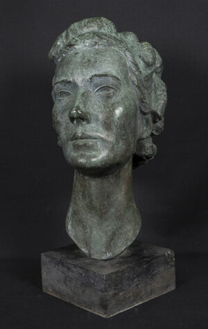 KONI Nicolaus (Hungarian-American) (1911-2000) - Head of a woman, thought to be a Mrs Bonham Carter.