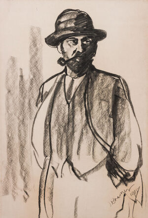 KRAMER Jacob (1892-1962) - Portrait of a Man.