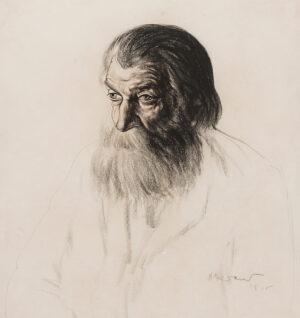 KRAMER Jacob (1892-1962) - The artist's father.