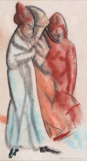KRAMER Jacob (1892-1962) - Three women.