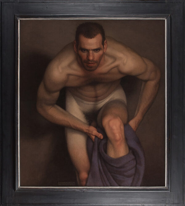 LEONARD Michael (b.1933) - 'Bather with intent'.