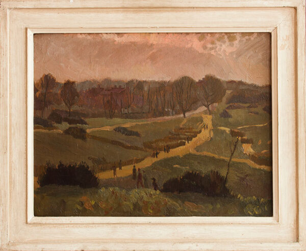 LA DELL Edwin A.R.A. (1914-1970) - 'In the Park' Hampstead.