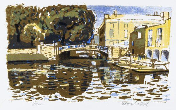 LA DELL Edwin R.A. (1914-1972) - 'Queens'; Queen's College, Cambridge.