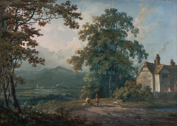 LAPORTE John (1761-1839) - Landscape, possibly in the Lakes.