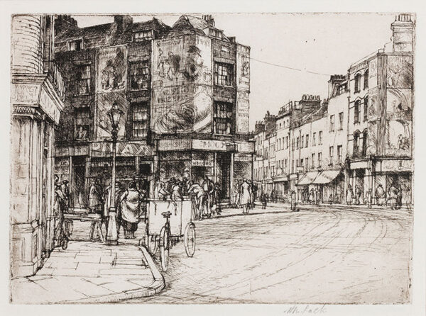 LACK Henry Martyn R.E. (1909-1979) - Street Corner.