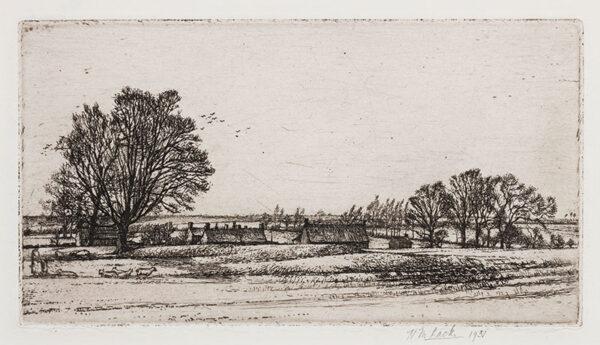 LACK Henry Martyn R.E. (1909-1979) - Winter landscape.