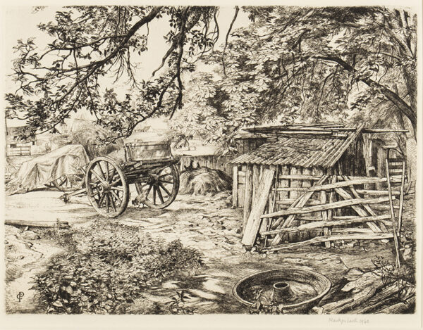 LACK Henry Martyn R.E. (1909-1979) - 'Stubbs Farm', Horsham, Sussex.