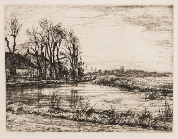 LACK Henry Martyn R.E. (1909-1979) - Northamptonshire landscape.