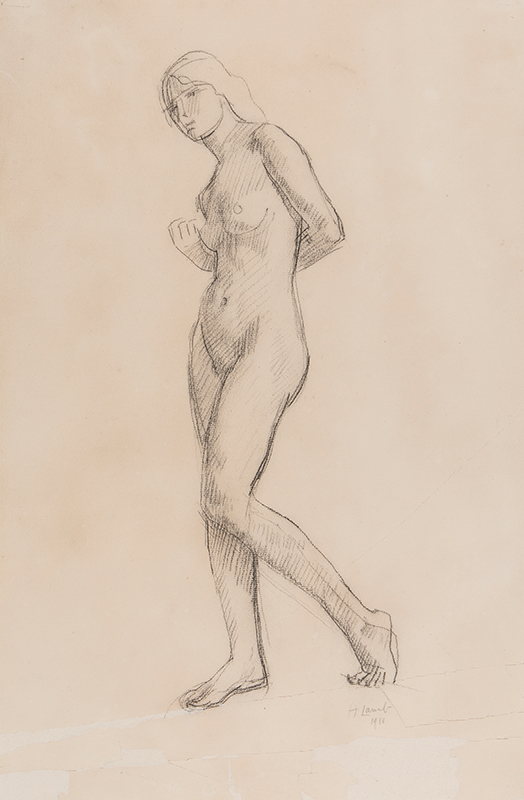 LAMB Henry R.A. (1883-1960) - Standing Nude.