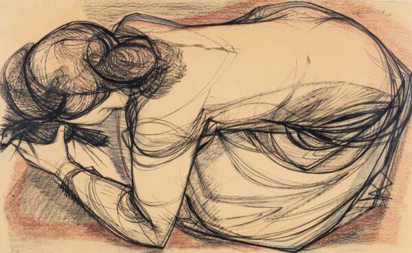 LAMBOURNE Nigel (1919-1988) - Bending Model.