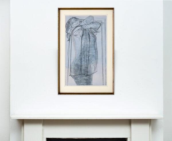LAMBOURNE Nigel (1919-1988) - Study: Undressing.