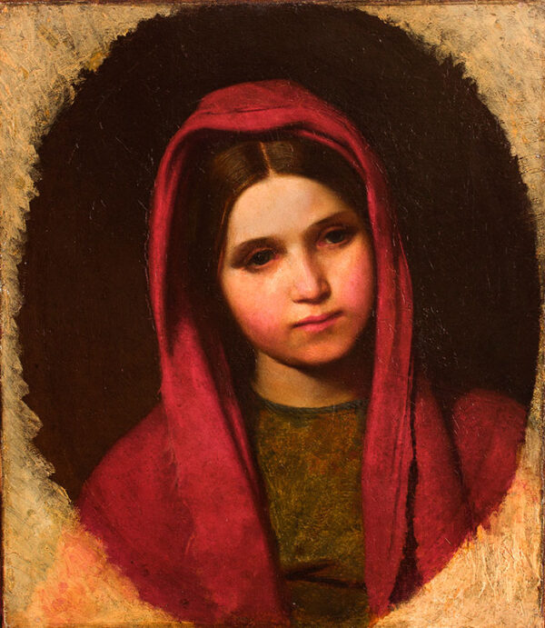 LAMONT Thomas Reynolds 'The Laird' (1826-1898) - 'Red Riding Hood'.