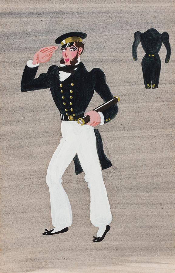 LANCASTER Sir Osbert (1908-1986) - 'Captain Belay'.