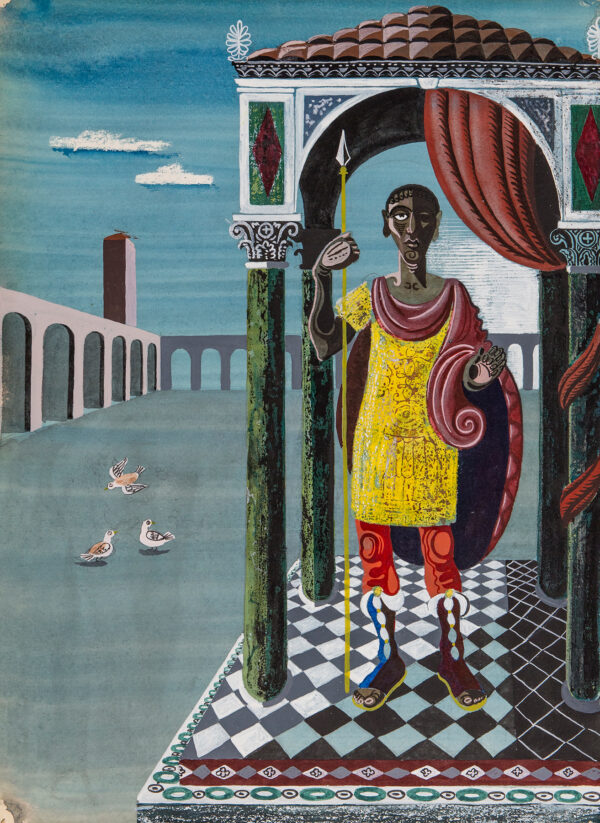 LANCASTER Sir Osbert C.B.E. (1908-1986) - 'An Imperial Personage'.