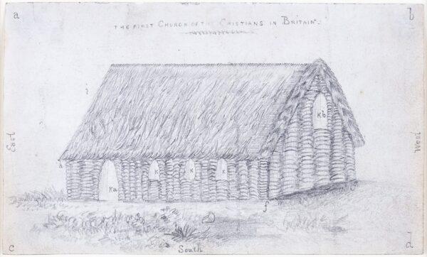 LANDELLS Ebenezer (1808-1860) - 'First Church of the Christians in Britain'.