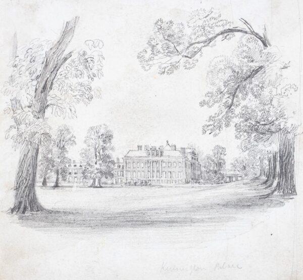 LANDELLS Ebenezer (1808-1860) - 'Kensington Palace'.