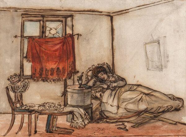 LANTE Louis-Marie (1789-1871) - Luxe et Indigence.