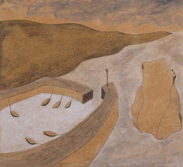 LANYON Andrew (b.1947) - 'Mullion', Cornwall.