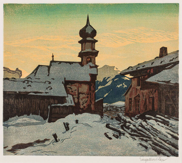 LAP Engelbert (1886-1970) - Evening, Brenner.