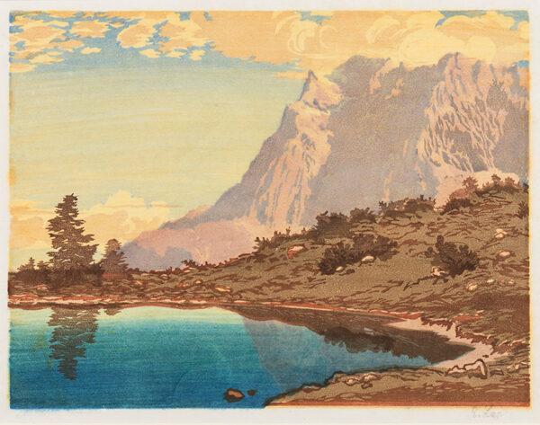 LAP Engelbert (1886-1970) - In the Tirol.