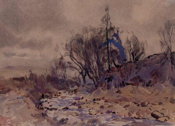 LAWSON Frederick (1888-1968) - 'Gill Beck, Wensleydale'.