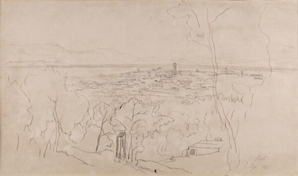 LEAR Edward (1812-1889) - In the Abruzzi.