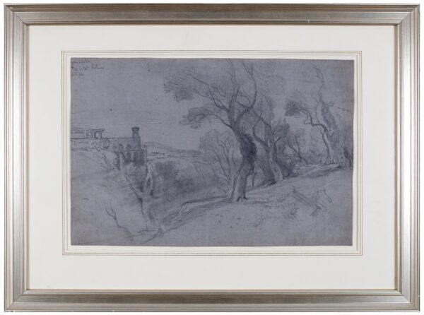 LEAR Edward (1812-1888) - View of Tivoli.
