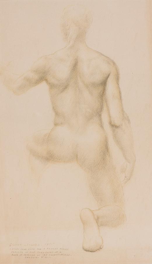 LEDWARD Gilbert R.A. (1888-1960) - 'The Seer'.