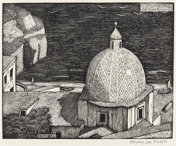 LEE Sydney R.A. S.W.E. (1866-1949) - 'On the Mediterranean' (RM.