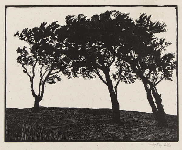 LEE Sydney R.A. S.W.E. (1866-1949) - 'Top of the Hill' (RM.